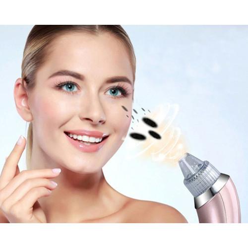 Få ren og flot hud med en skånsom pore ansigtsrenser med fem forskellige funktioner og 4 ...