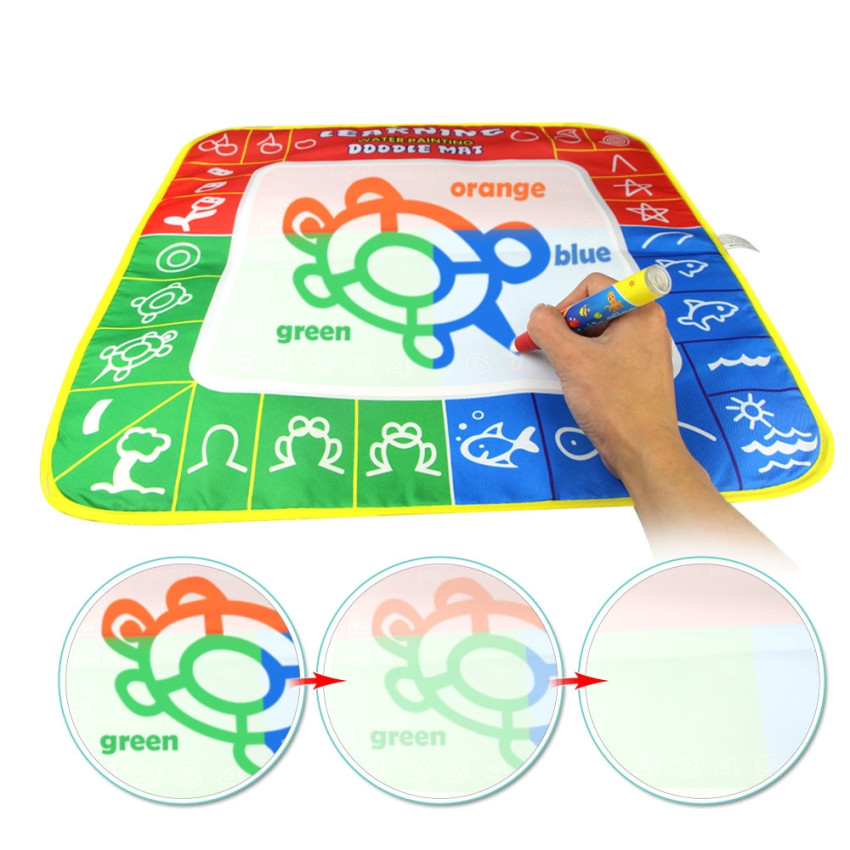 Magic Water Drawing Mat Coloring Board Doodle Mat Toys For