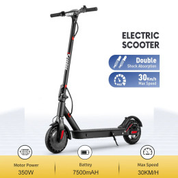 2021 iScooter Adult Electric Scooter Smart Scooter Electric 350w 30 km / h scooter Foldable scooter mini scooter