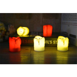 12 PCS of LED Electric Battery Powered Tealight Candles