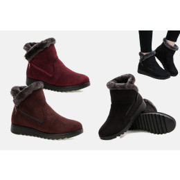 Warm Faux Fur Lined Winter Snow Boots