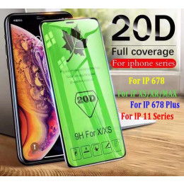 iphone 12 pro / 11 Pro MAX / 678 Plus 20D full cover tempered glass