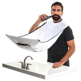 Men's beard shaving apron care clean hair adult bib