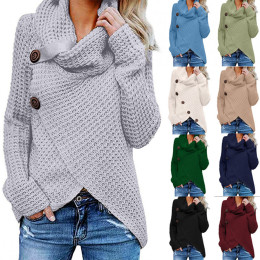 Women Button Long Sleeve Sweater