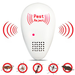 Ultrasonic Insects Pest Repeller Drive Insect Animal Repeller ABS Safety Relieved Sleep