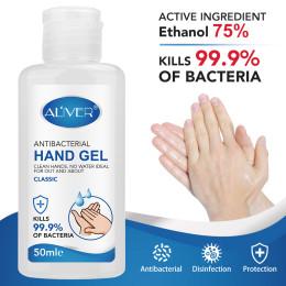 2pcs/Pack 50ml Antibacterial Hand Gel Disinfection Gel Hand Gel Hand Disinfectant