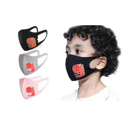 Three-Pack of Kids' 3D Cartoon Mask