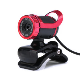USB 2.0 HD Camera Web Cam 360 Degree with MIC Clip-on for Desktop Skype Computer PC Laptop