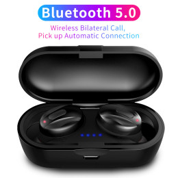 TWS Bluetooth 5.0 Wireless Earphone In-Ear Earbuds Stereo Bass Bluetooth Headset Mini Earpiece