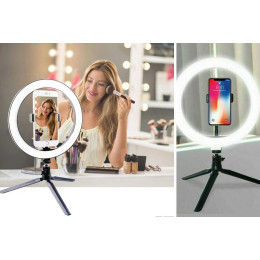 10-inch LED Ring Light & Stand