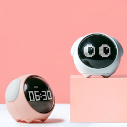 Kids Led Light Digital Alarm Clock Multifunction Electronic Night Time Alarm Clock
