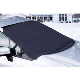 Windshield protection against frost and snow