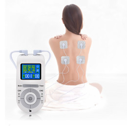 Tens Unit Muscle Stimulator, 12 Modes Electrostimulator Machine, Body Massager, Pain Relief, EMS Muscle Stimulation