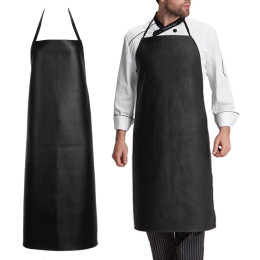 Leather Apron Waterproof Oil Proof and Wear-resisting