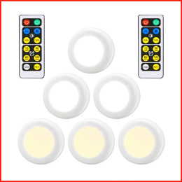 Under Cabinet Light Wireless Dimmable Touch Sensor LED Bedside Lamps Battery Remote Control Suitable For Kitchen Ladder