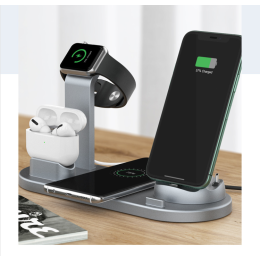 Multifunction Apple-Compatible Rotating Charging Dock - 2 Options