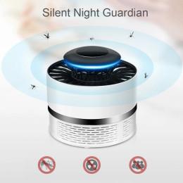 Electric Mosquito Killer Trap UV Lamp Night Light Silent Mosquito Fly Bug Repellent Repellent Zapper