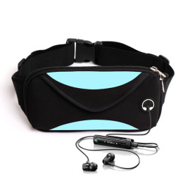 Outdoor Cycling Running Walking Jogging Unisex Waist Bag Exercises Funny Multi-functional Waterproof Anti-theft Phone Bag