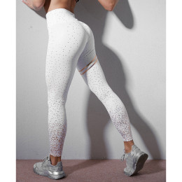Women Polka Dot Leggings Punk Fitness Sports Running Athletic Pants Training Tights Leggings Women's Leggings