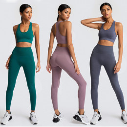 Seamless Yoga sets 2 piece sports set women sports bra leggings sports set women sports dress women workout clothes sports