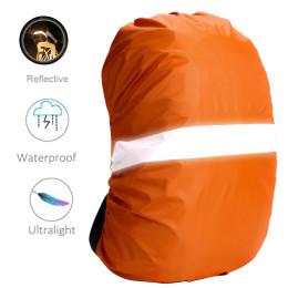 Rain Cover Backpack Reflective Waterproof Bag Dust Raincover