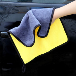 30x30/40/60 cm car wash microfiber towel drying cloth car cleaning hemming car care cloth detailing car wash towel