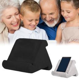 Adjustable Mobile Phone Shelf Bracket Multi-angle Soft Cushion Pillow Holder Lap for iPads