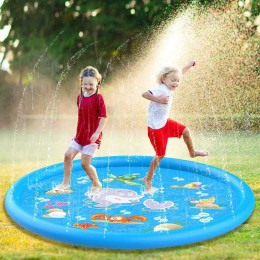 Inflattable Round Splash Play Pool
