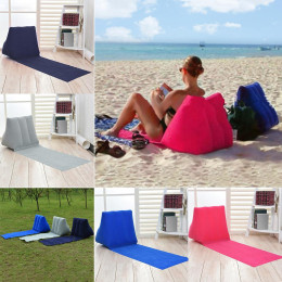Inflatable pillow for chairs, inflatable cushion for lounger, chair, festival, beach, camping, leisure