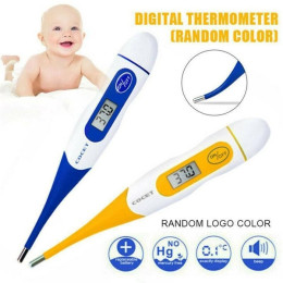 Soft Head LCD Digital Thermometer Baby Adult Body Oral Electronic Thermometer
