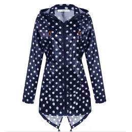 Women's Outerwear Outdoor Hiking Camping Mountaineer Zipper Hooded Breathable Rainwear Waterproof Jacket Raincoat