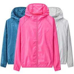 Long sleeve waterproof cycling jacket sun protection tops ultra-thin breathable sunscreen women jacket