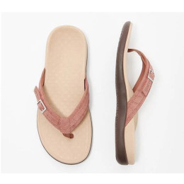 Summer women's thong slippers with Buckle