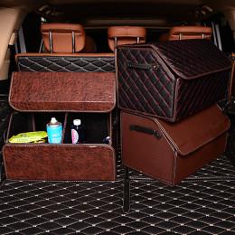 Car Trunk Organizer Large Capacity Storage Bag Multi-use Tools Folding Mat Emergency Box