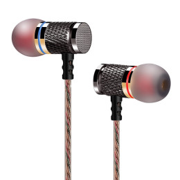 KZ-ED Speical Magnetic High-End Noise Cancelling 3.5mm Stereo Earphones with Microphone