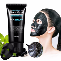 Mabox Black Mask Deep Cleansing Facial Mask for Face & Nose