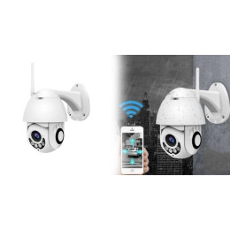 Outdoor camera with WiFi controlled via app in the mobile.