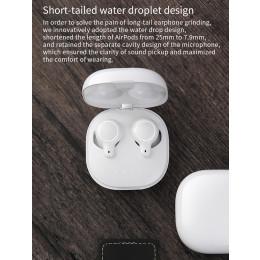 EP810 tws bluetooth 5.0 headphones hd stereo fingerprint touch, mini headphones with microphone sport charging box