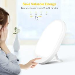 Lysterapilampe med justerbar lysstyrke