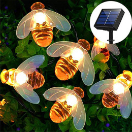 Honey Bee Solar Lights