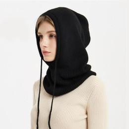 Xthree Cashmere Winter Knitted Hat Beanie Women Scarf Skullies Beanies Winter Hats For Women Men Cap Solid Bonnet Mask Brand Hat