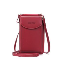 2021 Fashion Cell Phone Case Designer Small Shoulder Bag for Women PU Leather Ladies Crossbody Bag Female Mini Messenger Bags