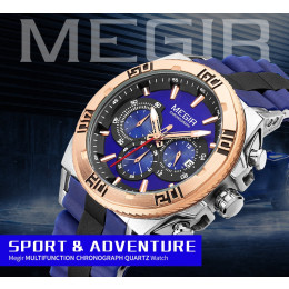 MEGIR Chronograph Sport Watch