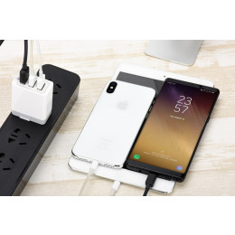 3 Ports Quick Charger QC 3.0 30W USB Charger
