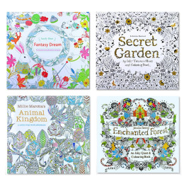 Coloring Book For Children Adult Relieve Stress
