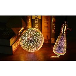 LED 3D Fireworks Light Bulb