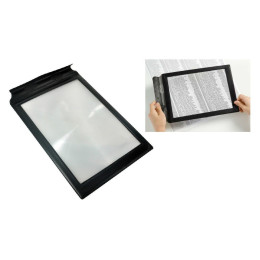 3X A4 Full Page Magnifying Glass Reading Aid Lens