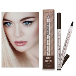 Music Flower Makeup Fine Sketch Liquid Eyebrow Pencil