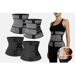 waist trainer corset sweat belt for woman weight loss workout fitness
