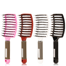 Professional Hairdressing Bristle Hair Brush